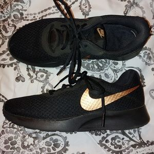 Nike Black with rose gold